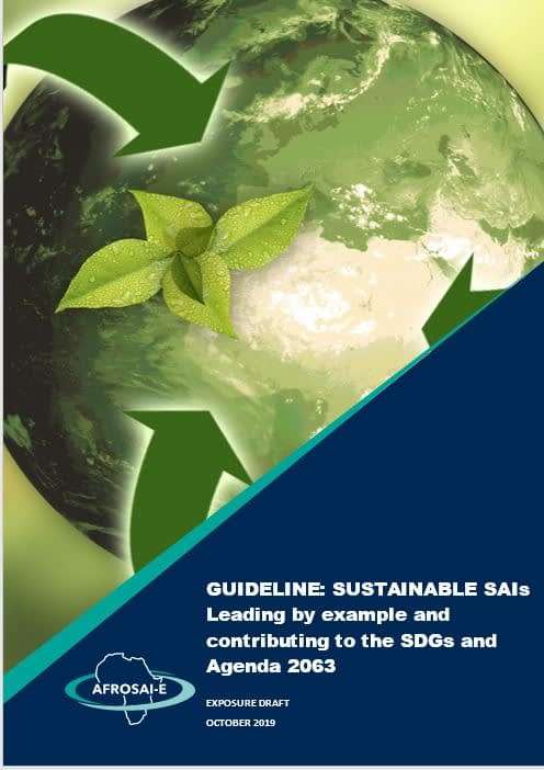 Sustainable SAIs cover