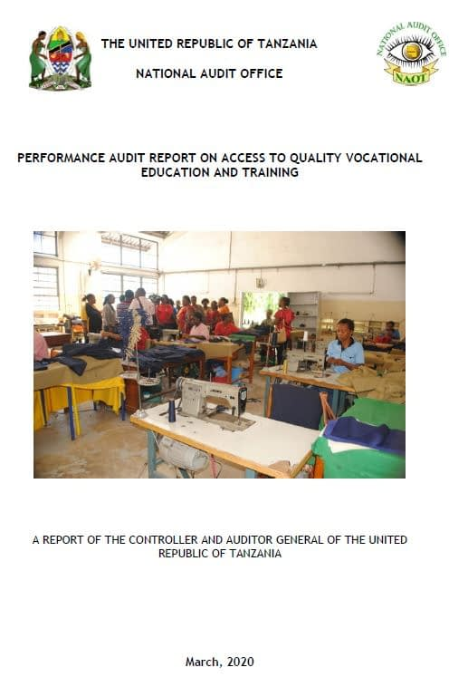Access to quality training_tanzania cover