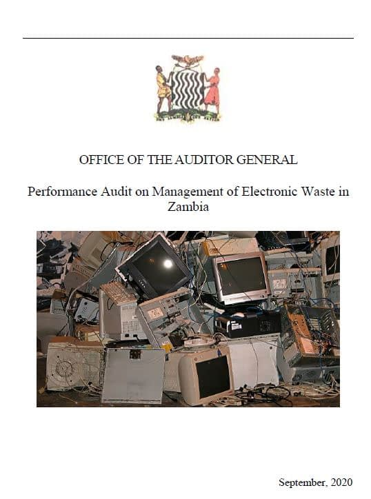 Electronic waste - cover