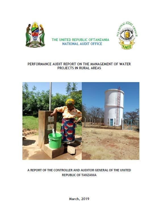 Tanzania_PA Report on Management of water in rural areas_cover