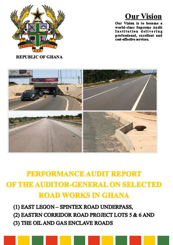 Ghana_PA Report on Selected Roadworks 1_cover