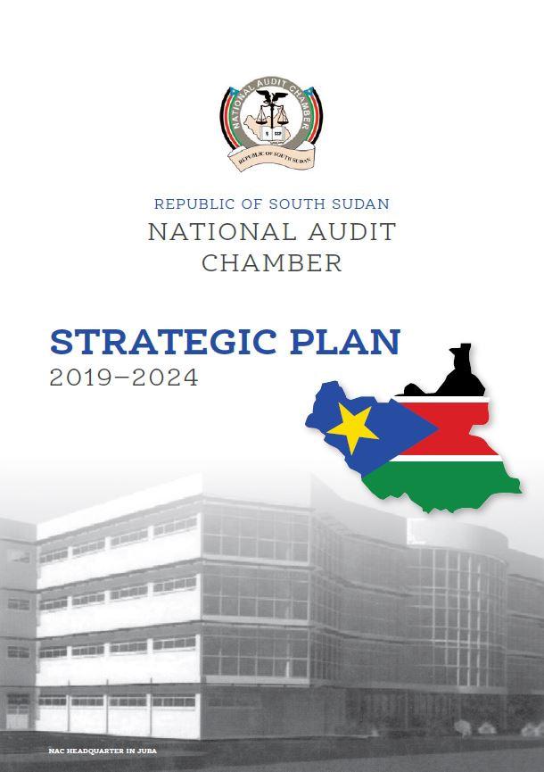 South Sudan Strategic Plan 2019-24 cover