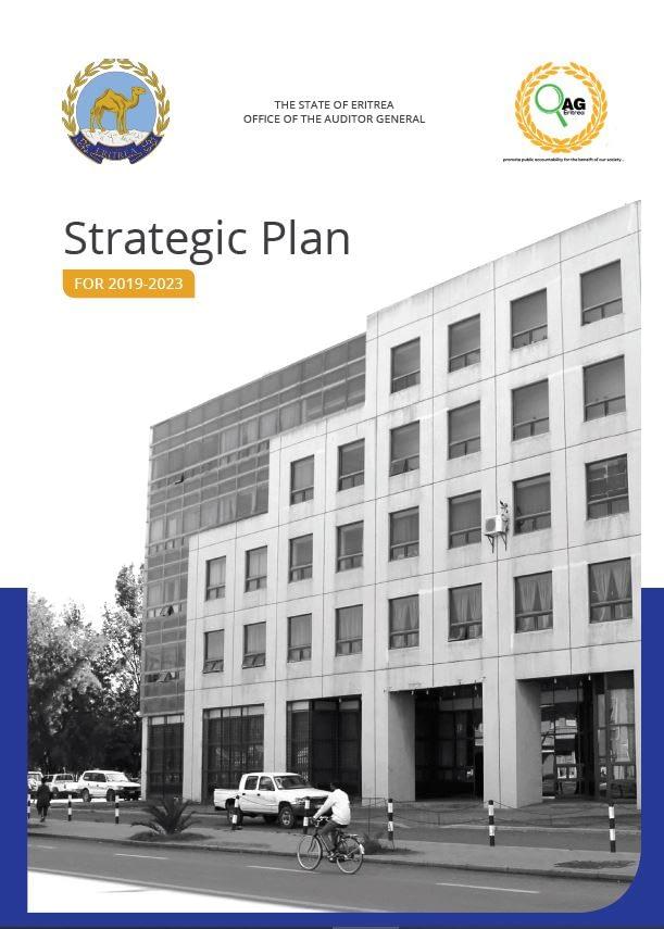 Ertitrea Stat Plan 2019-23 Cover