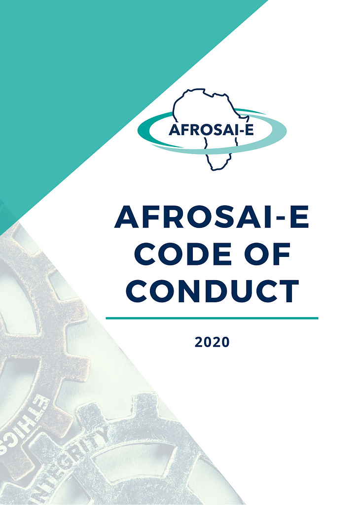 AFROSAI-E Code of Conduct cover